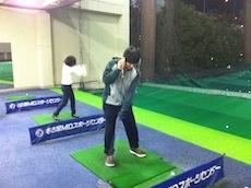 ゴルフ練習5回目