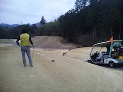 3度目のゴルフコース