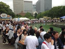 日比谷公園ビール祭