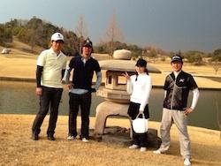 6度目のゴルフコース