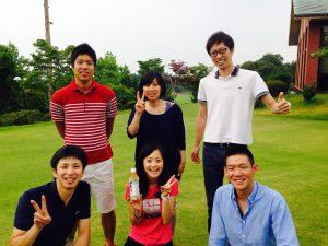 10度目のゴルフコース