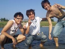 穂積の川 with最高の友達