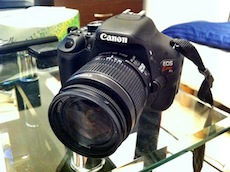 一眼レフ購入!!【Canon EOS Kiss X5】