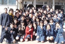 滝高校卒業式