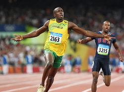 北京五輪100m