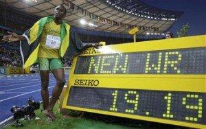 ボルト 200mも異次元世界新で優勝「目標は伝説になること」