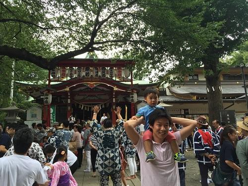 居木神社例大祭(大崎祭)