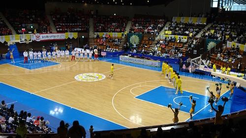 女子バスケWリーグ観戦