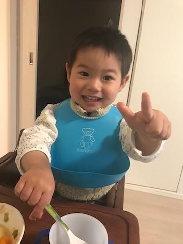大輝、2歳