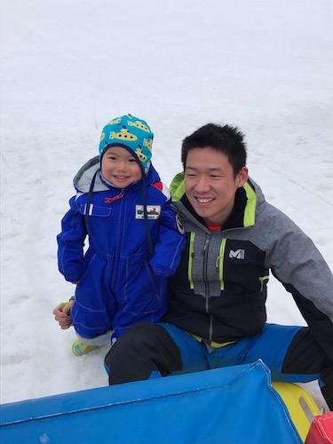 今期二度目の雪遊び