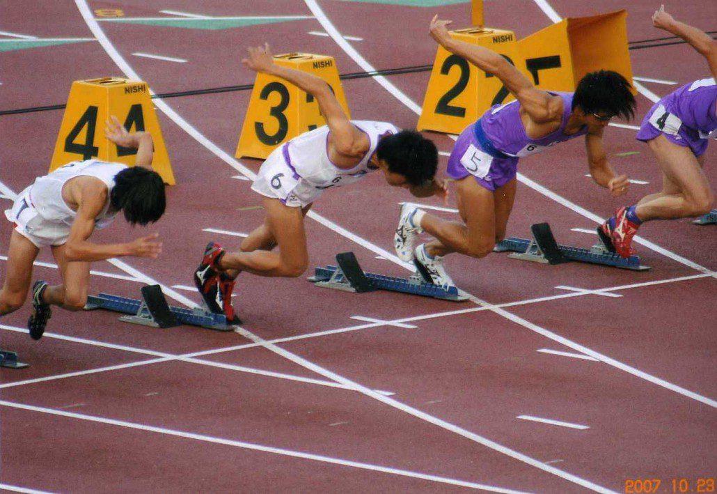 10秒台で走るための練習法。