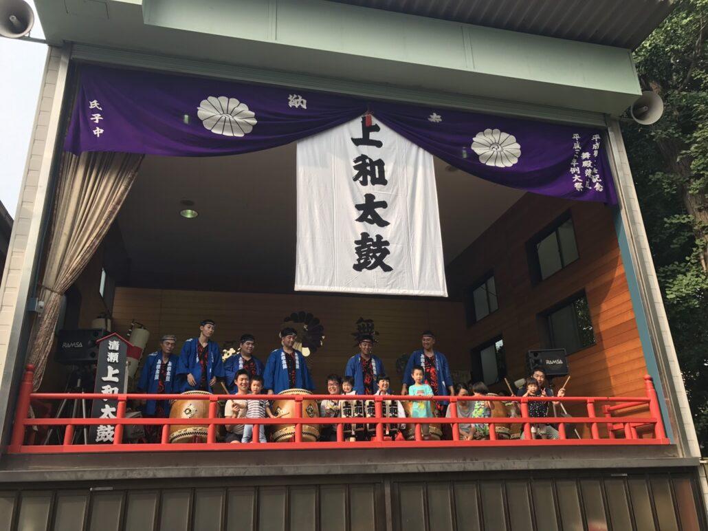大崎お祭り・お神輿