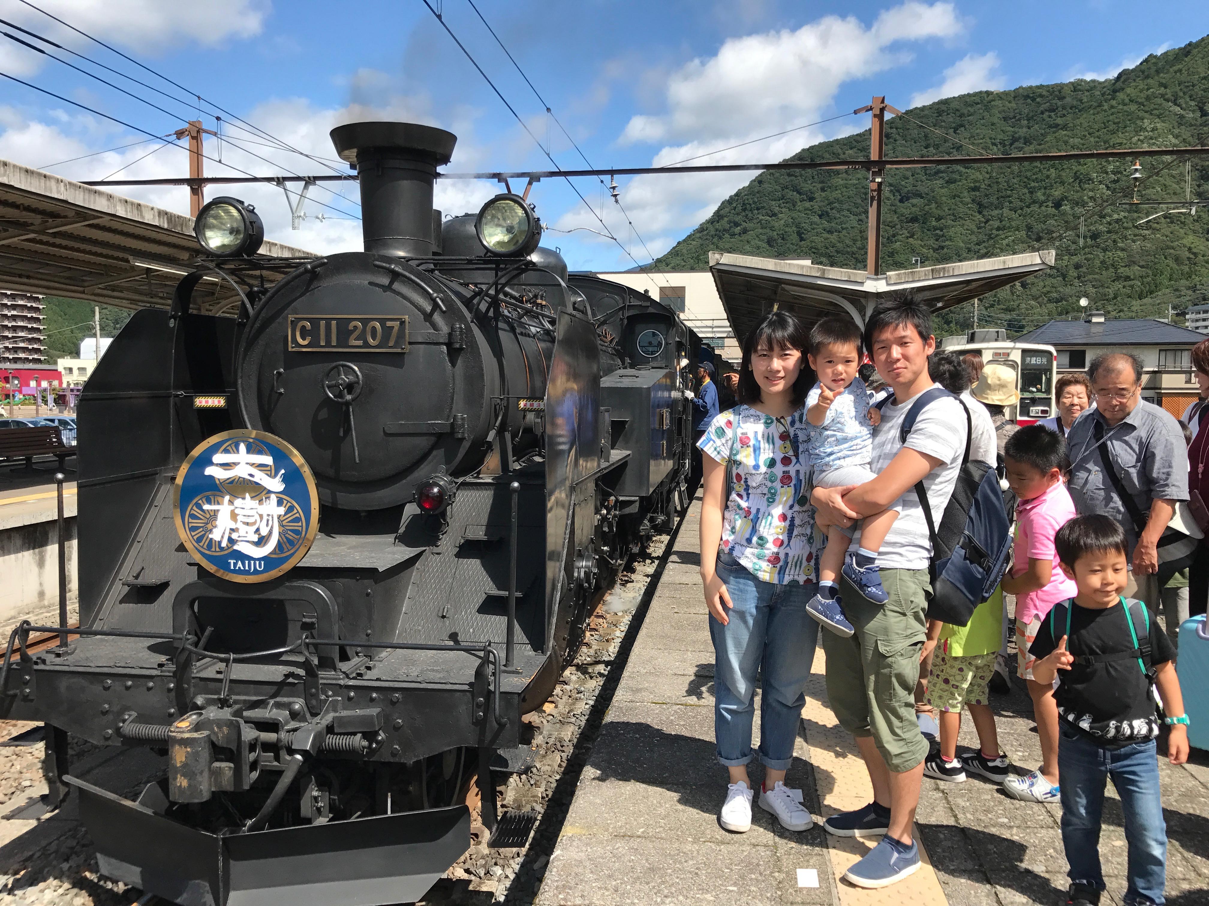 東武鉄道SL「大樹」に乗車→日光東照宮