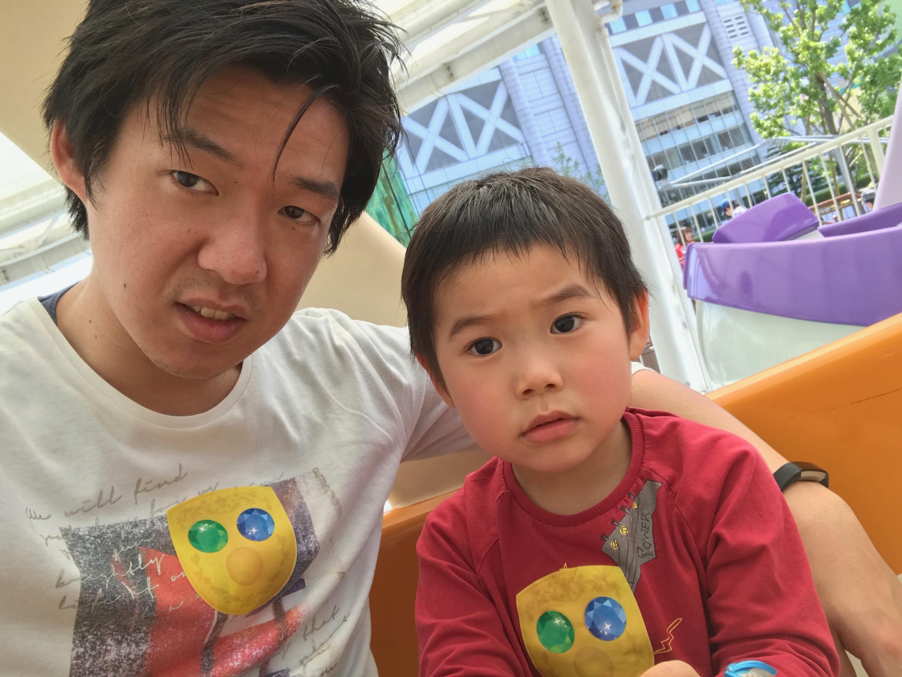 息子と二人で東京ドームのしまじろうイベントに行ってきた
