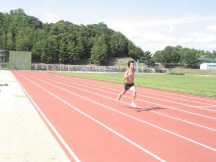 加速走は良い練習。