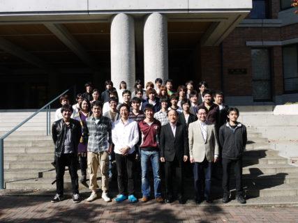 卒業アルバム用写真撮影