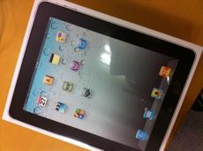 iPad届いた!!