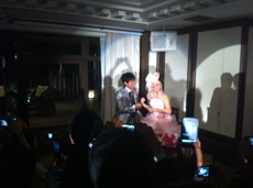 パフさん結婚式
