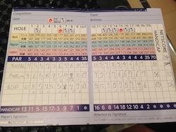 5度目のゴルフコース