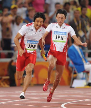 日本チーム,リレーで銅メダル