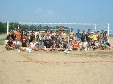 砂浜ダッシュ+ビーチバレー