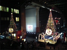 クリスマスツリー(京都駅)