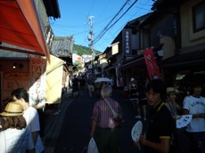 夏の京都 in清水寺
