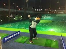 ゴルフ練習7回目