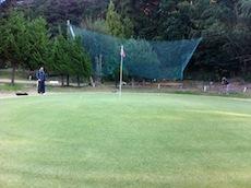 ゴルフ練習9回目 ショートホール