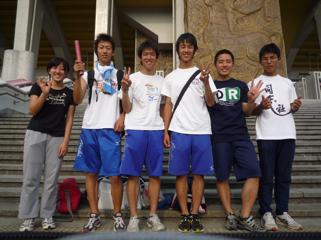 愛知県選手権リレー2008