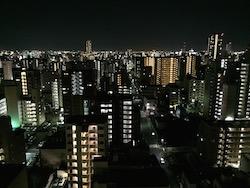 センタータワーからの夜景