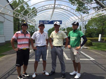 同期男子ゴルフ