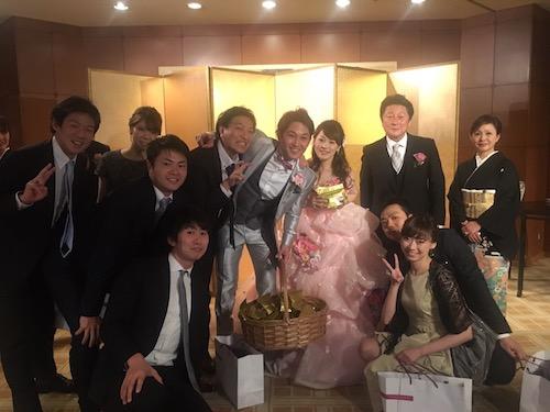 よっしー結婚式