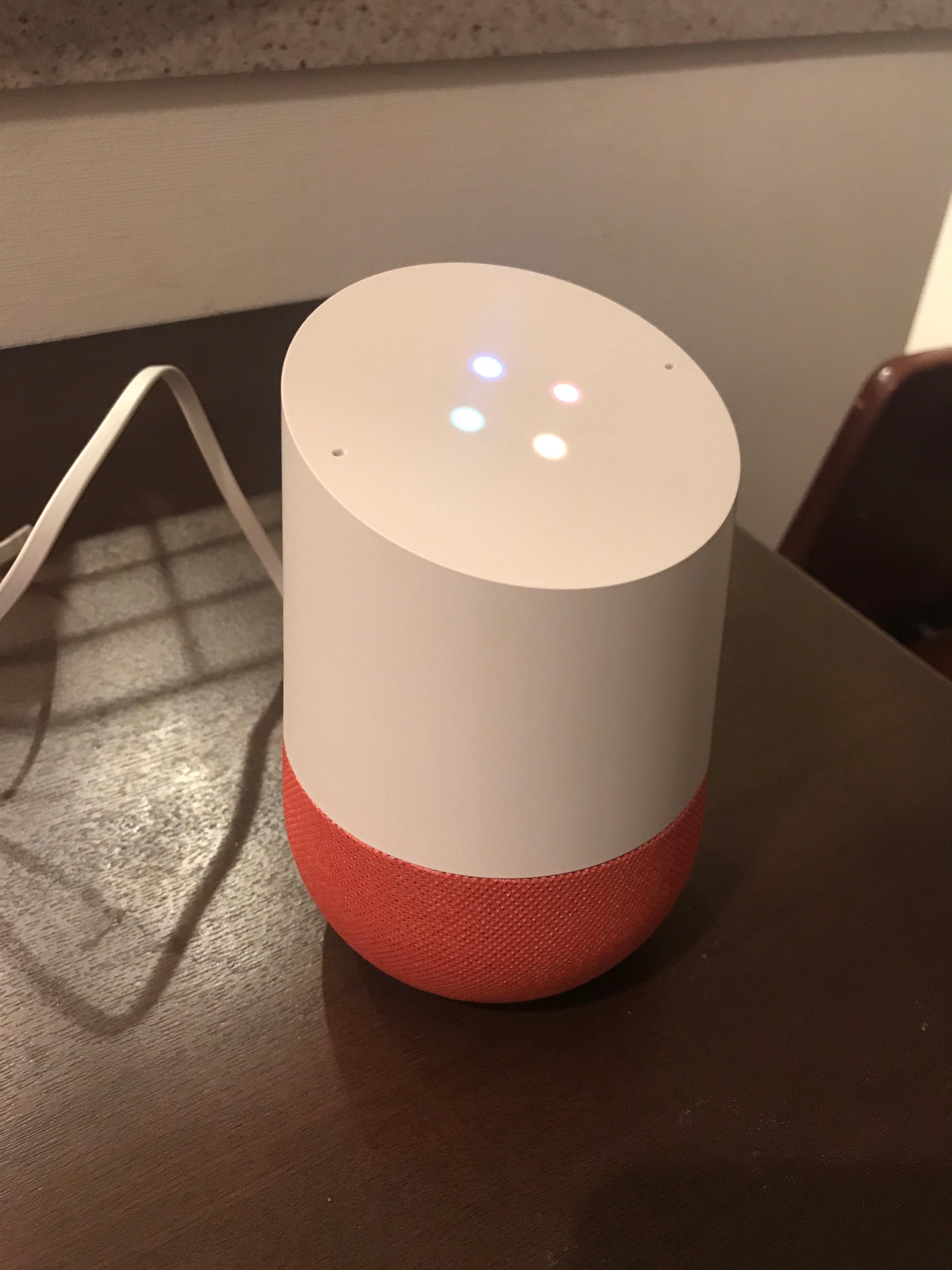 Google Homeを購入