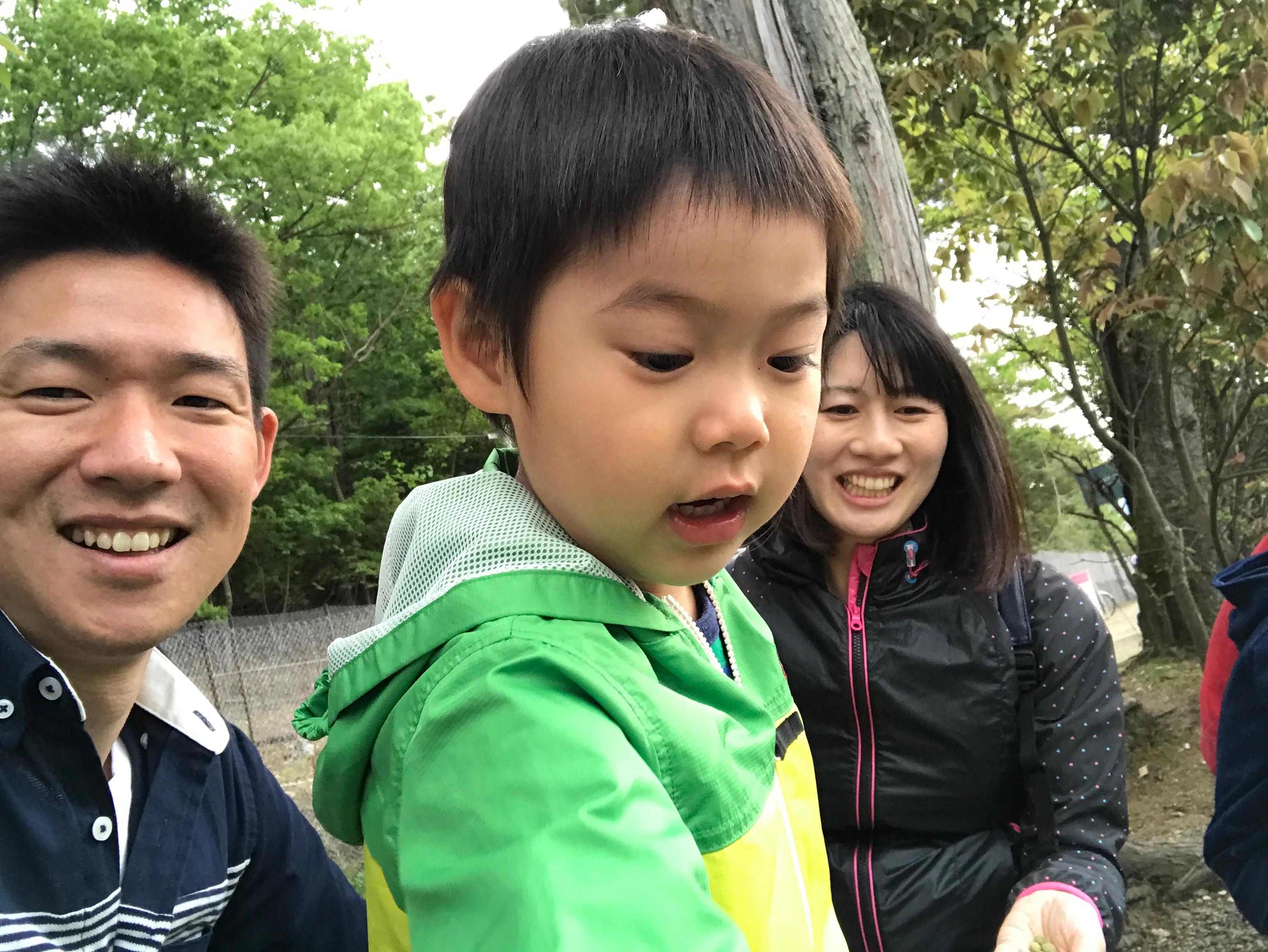 京都の国際会館で家族ランチ