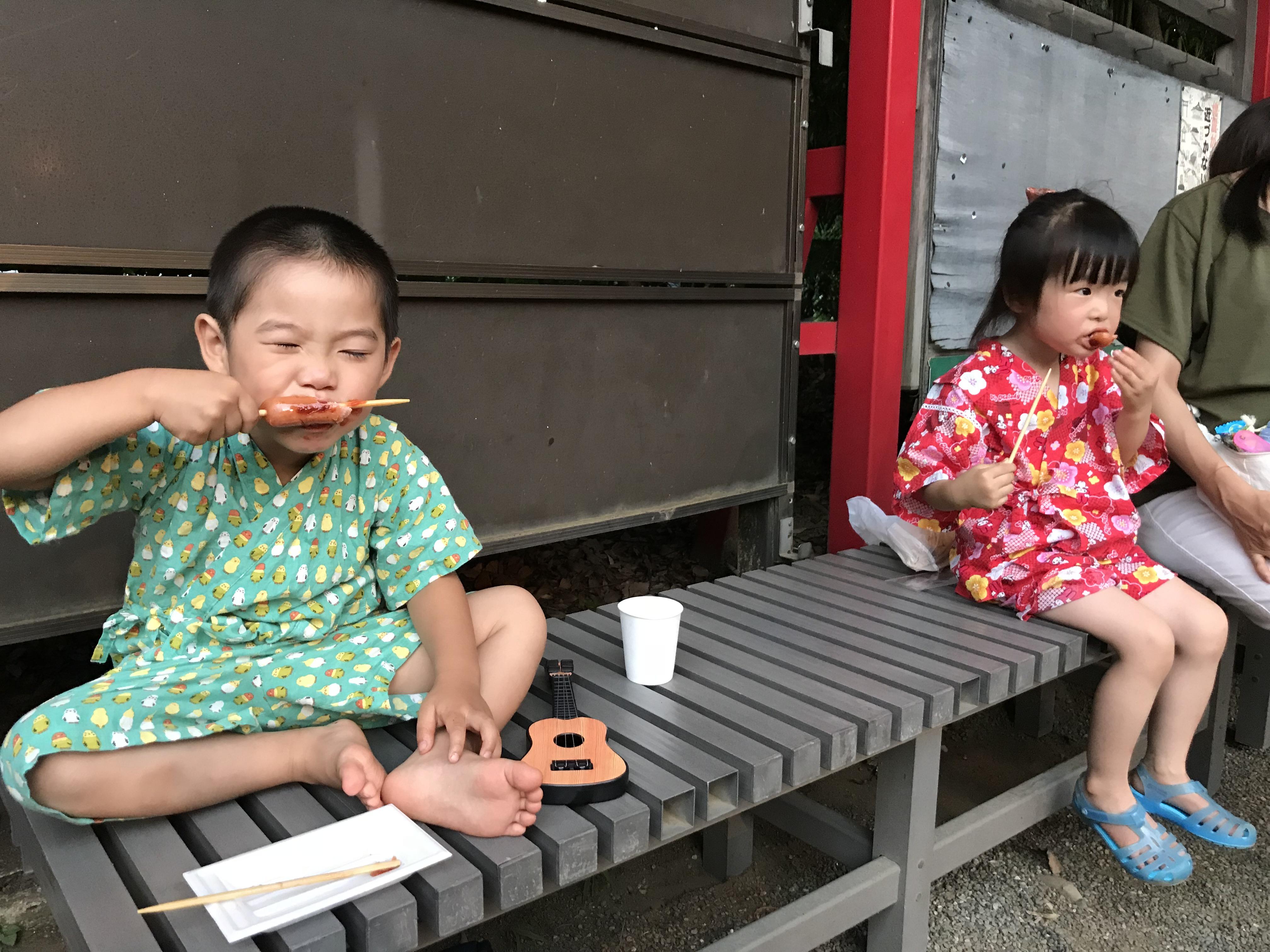 品川学園祭り→居木神社祭り