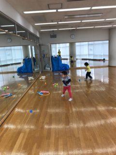 体操教室→弟家族