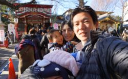 居木神社で初詣