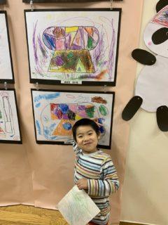 息子の芸術作品