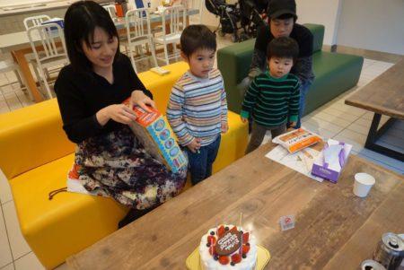 大輝4歳誕生日パーティー