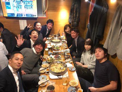 中部同期飲み in東京新橋
