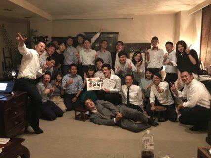 小野氏の送別会(PASS:〇BP)