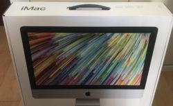 嫁に内緒でiMacを購入