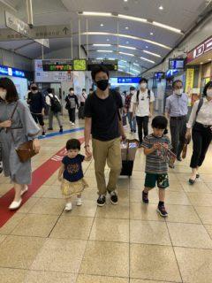 5連休が終了し、東京帰宅